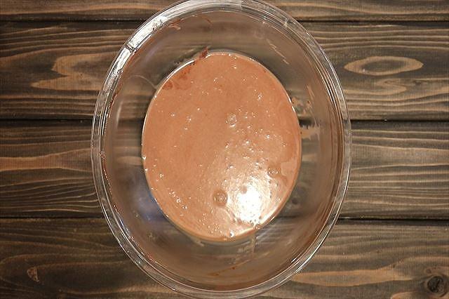 生チョコクリームの原液完成