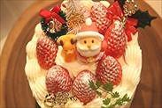 プロレシピの本格クリスマスケーキ完成