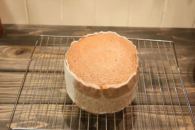 チョコスポンジケーキ完成