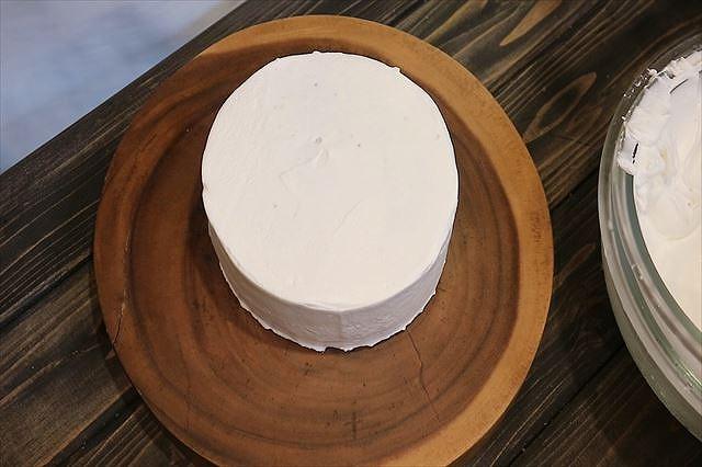 ケーキを移す