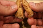 クッキーの中心の焼き色