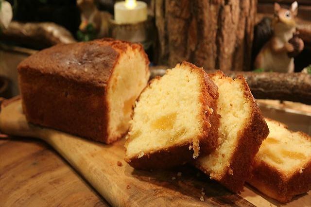 パイナップルココナッツパウンドケーキできあがり