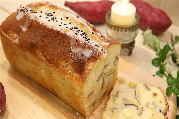 さつまいものパウンドケーキできあがり