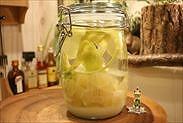 レモン酒仕込み完了