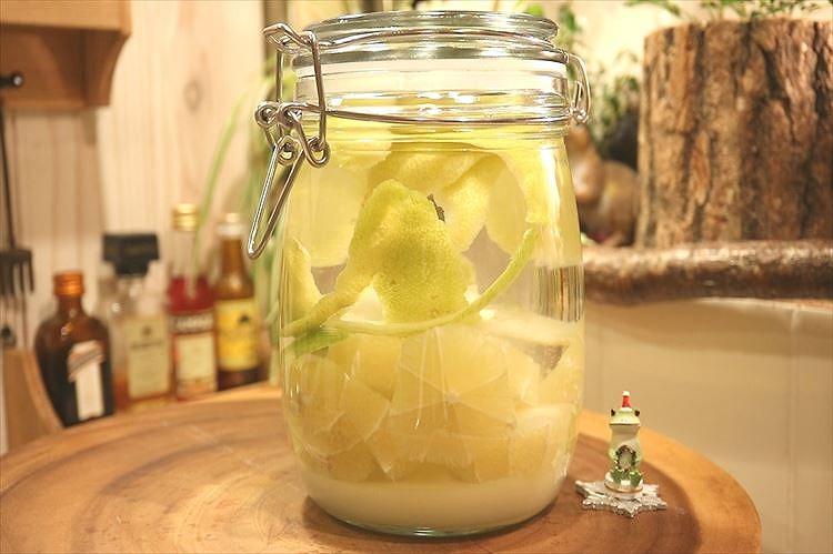 レモン酒仕込み終わり
