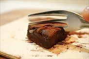 極☆とろける生チョコを食べる