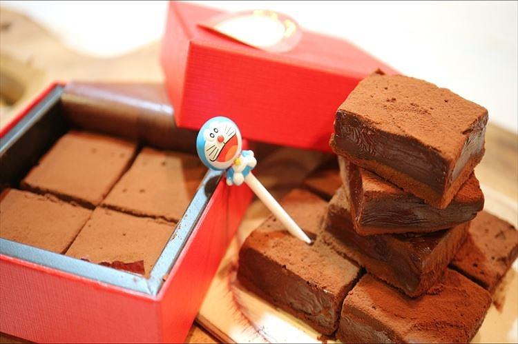 極☆とろける生チョコできあがり