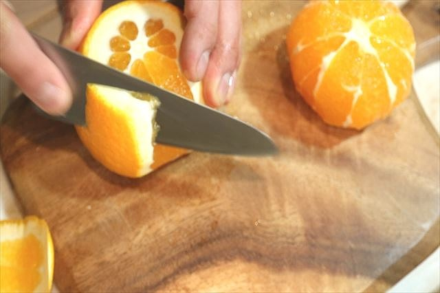 オレンジをカルチェする