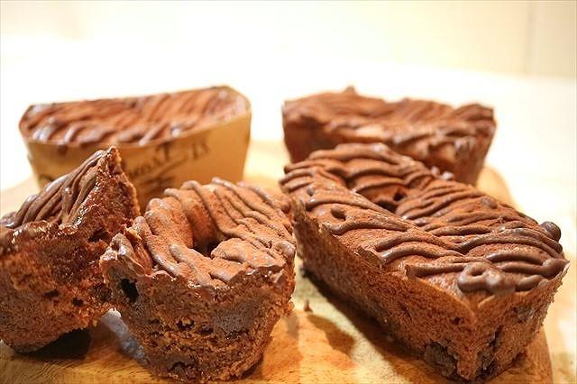 生チョコショコラケーキできあがり