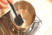 シロップを炊く