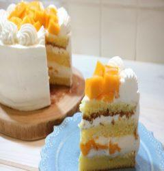 マンゴーのショートケーキの作り方・レシピ 【絶品メキシコ産アップルマンゴー】 - コリスのお菓子作りブログ