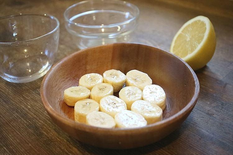バナナの変色を防ぐ方法