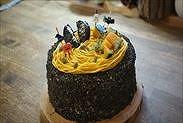 かぼちゃのハロウィンショートケーキ完成
