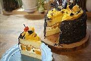 かぼちゃのハロウィンショートケーキ