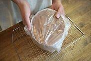 卵3個で作れる簡単チョコスポンジケーキ