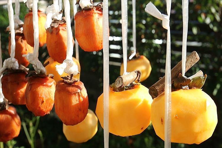 干し柿(吊るし柿)
