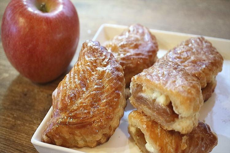 りんごパイ(ショーソン・オ・ポム)できあがり