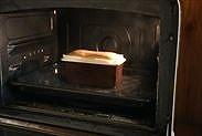 オーブンの扉を3秒開ける