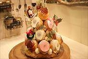 クリスマスツリーケーキ(クロカンブッシュ)完成