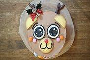 トナカイのクリスマスケーキ完成
