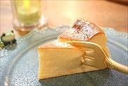 バスクチーズケーキを食べる