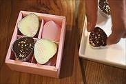 生チョコラッピング