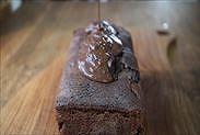 溶かしたチョコレートをかける