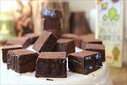 豆乳で作る簡単生チョコ完成